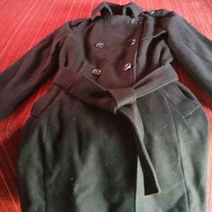 gap wool dress coat